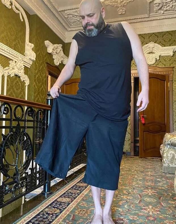 Фадеев сбросил 100 килограммов