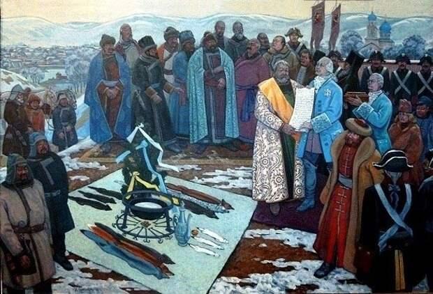 История Кузнецкой Земли. 1756 год. Кузнецкий уезд