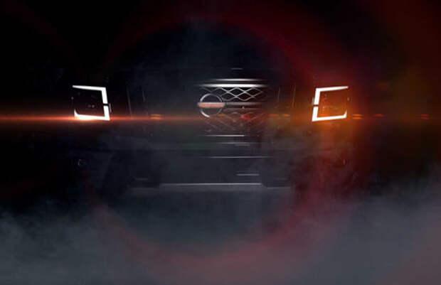 Nissan показал тизер пикапа Titan. Премьера - в четверг