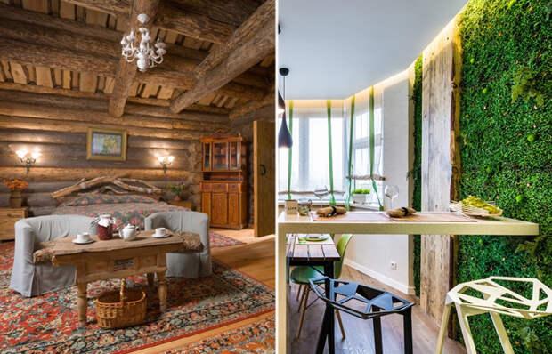 А у вас в каком стиле оформлен интерьер дачного домика?