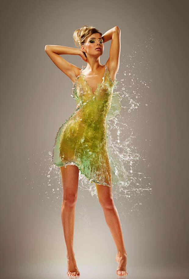 Одежда из воды...