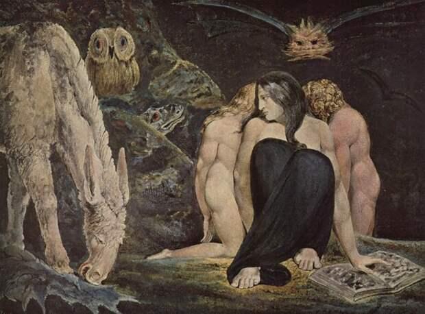 Геката — Уильям Блейк, 1795