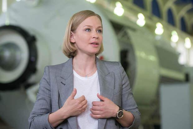 Юлия Пересильд полетит на МКС для съёмок фильма