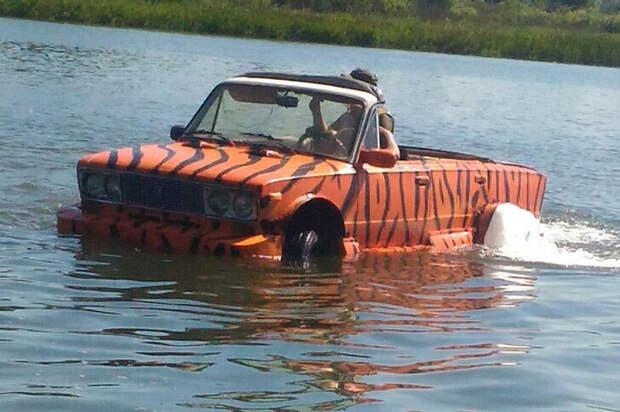 Топ-3 плавучих автомобиля от очумелых ручек: фото и описание изобретений
