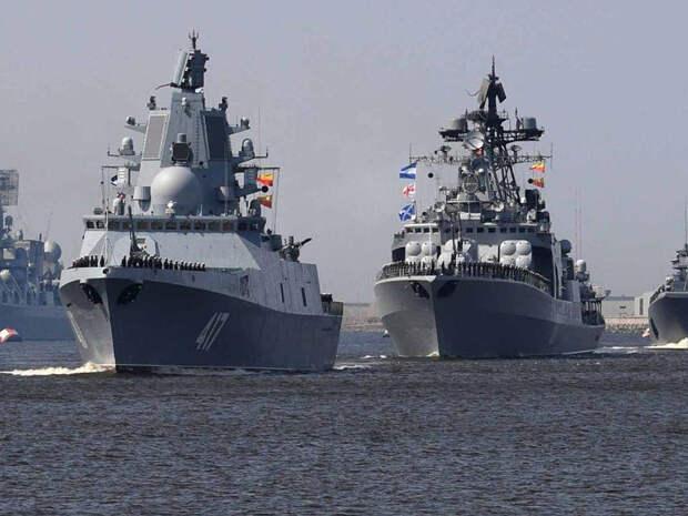 Японские военные устроили провокацию, пытаясь окружить 4 корабля ВМФ РФ вЦусимском проливе