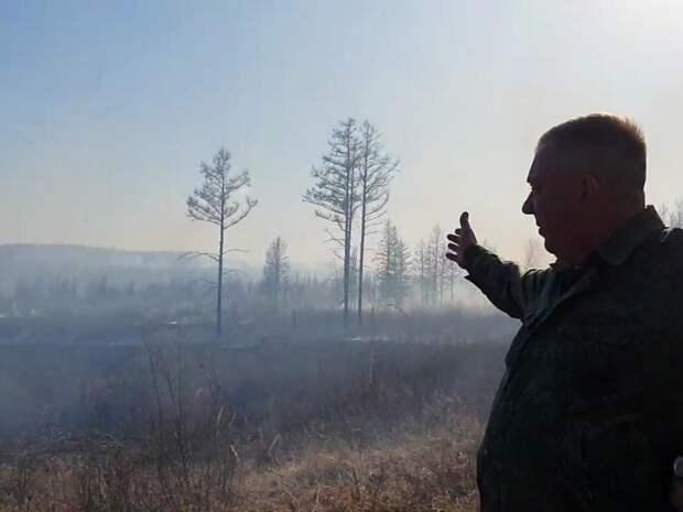 На границе Бурятии и Забайкалья нашли пожар, о котором никто не знал