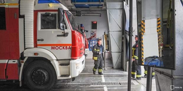 В девятиэтажке на Шереметьевской сгорела мебель