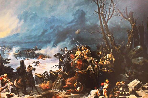 «Трехдневный поиск голодных, полунагих французов»: бой под Красным.