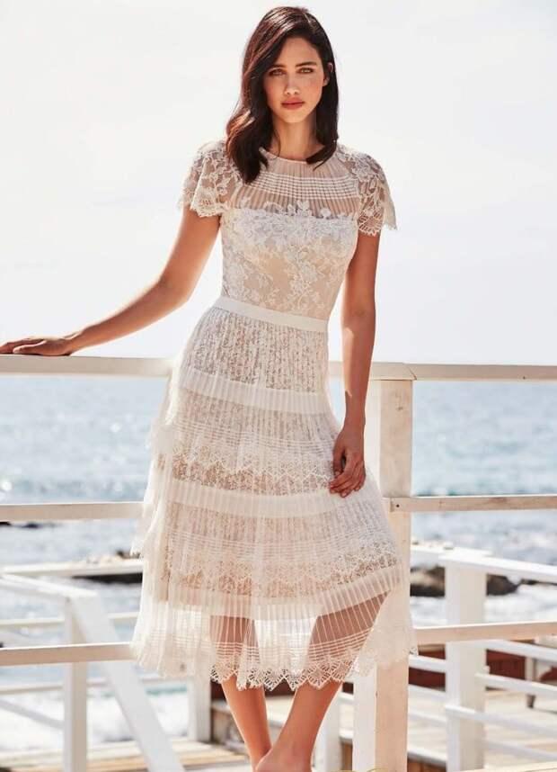 Роскошный total white – модные идеи и образы