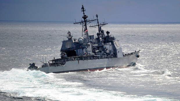 НАТОвский капитан думал, что его не видят возле Крыма. Он жестоко ошибался!