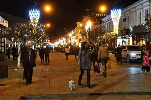 Новогодняя красота в Крыму: Как украсили полуостров к праздникам