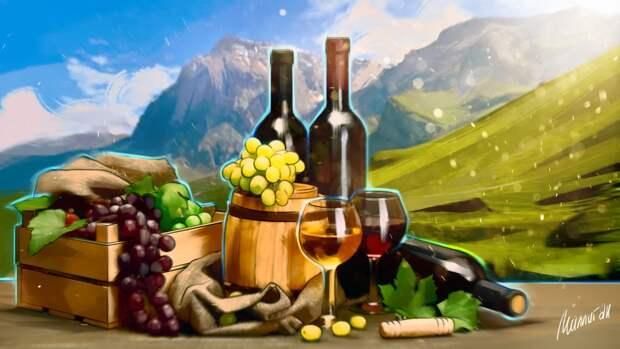 Российские фермеры получат возможность производить вино и шампанское