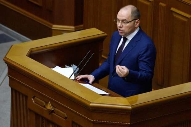 На Украине из-за ситуации с COVID-19 уволили министра здравоохранения