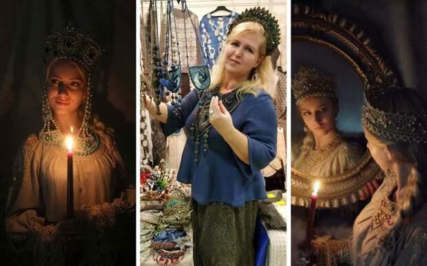 Сказочные венцы создаёт своими руками Ирина Шикова. Не каждый наденет, но восхищаться может каждый