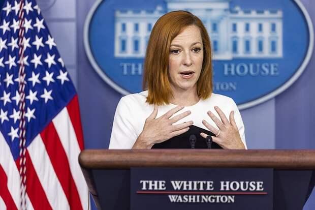Джен Псаки планирует через год уйти с поста пресс-секретаря президента США