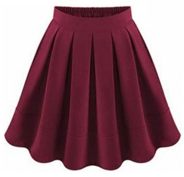 Как сшить юбку с круговыми бантовыми складками