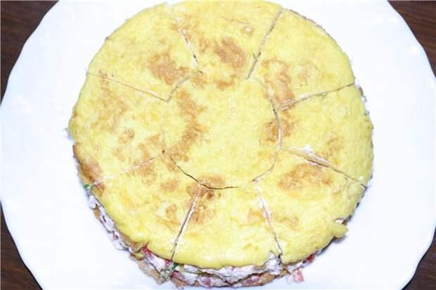 ЗАКУСОЧНЫЙ ДЕНЬ. Праздничный закусочный торт