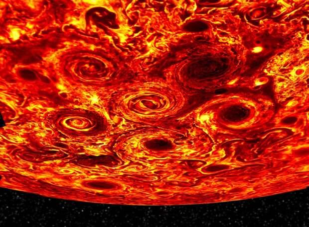 Наблюдения «Juno» показали, что ядро Юпитера состоит из смеси водорода и гелия