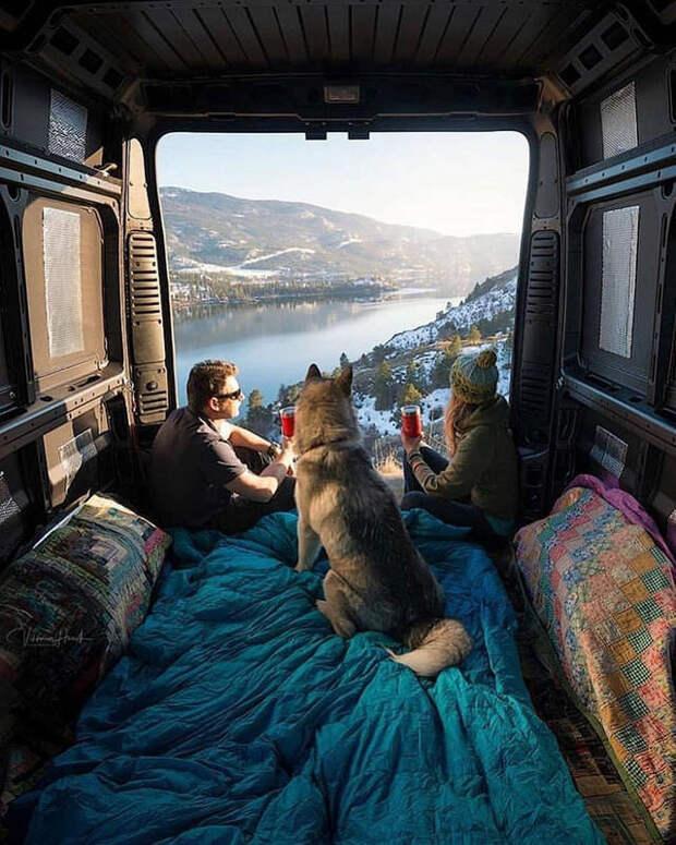 Примерно так выглядит счастье: путешествие в фургоне