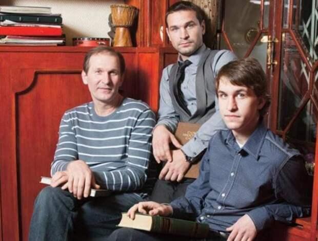 Актерская семья Добронравовых | Фото: fb.ru