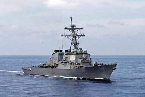 Американский корабль направили к границам России