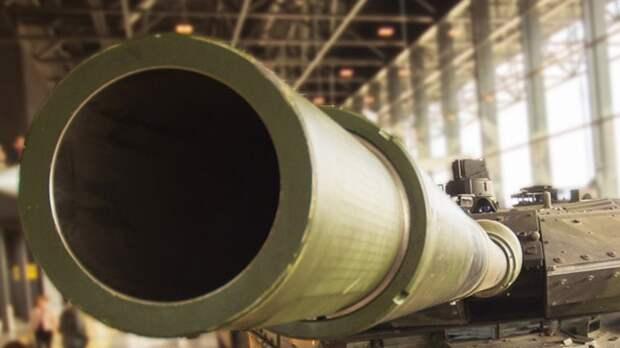 В России рассказали о создании танкового орудия на новых физических принципах