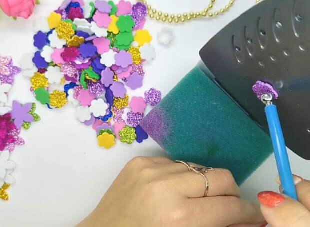 Чудесная новогодняя игрушка своими руками