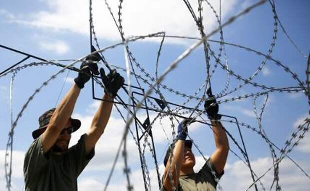 Литва: Будет и колючка, будет вам и ток