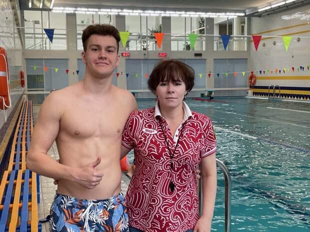 Десятиклассник из Куркина взял золото на первенстве Москвы по подводному спорту