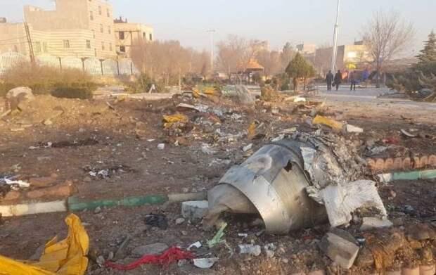 В Иране разбился украинский самолет. Погибло 176 человек