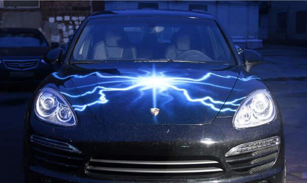 Светящийся тюнинг и аэрография для Вашего автомобиля