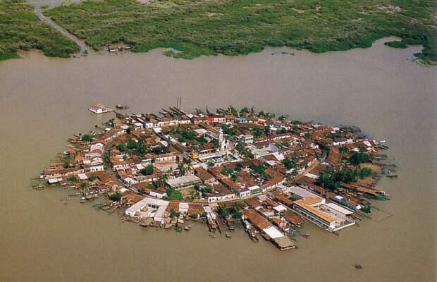 Мескальтитан — город на воде