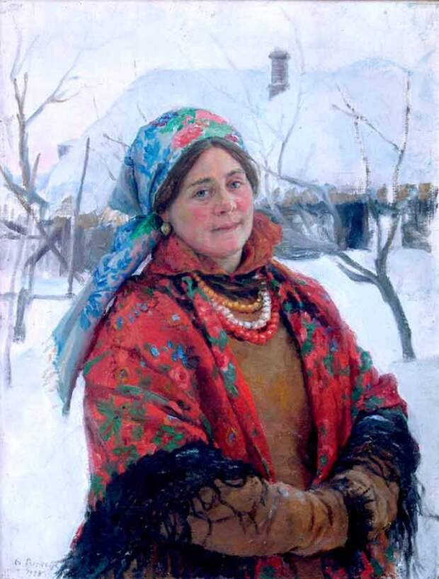 Федот Сычков, «Молодуха». / Фото: www.lyam-biblio.ru