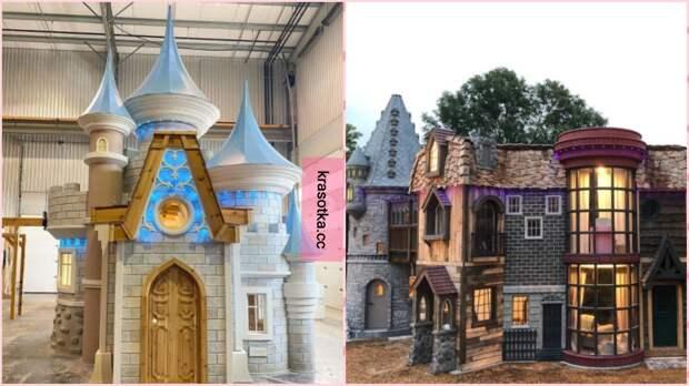 Как из сказки: 10 волшебных примеров игрушечных домиков, в которые так хочется поселится