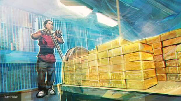Адамович рассказал, как повышение стоимости золота принесло пользу России