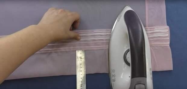 Как укоротить шторы без швейной машинки и без шитья вообще. Простой работающий способ