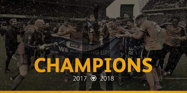 «Наверно, уже слишком поздно для парада». «Вулверхэмптон» объявил себя чемпионом АПЛ сезона-2018/19