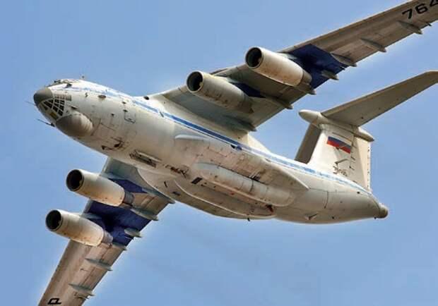 контрольно-измерительный пункт, самолет ил-76скип, изделие 976