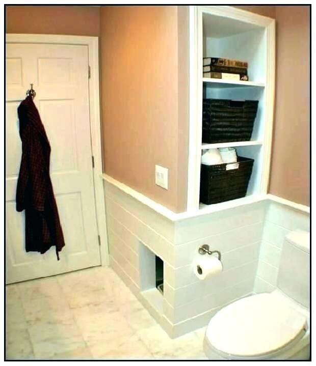 Встроенный кошачий туалет №2
