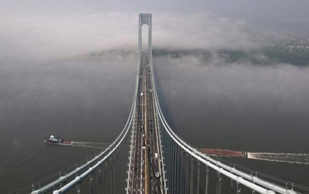Топ-10 самых длинных висячих мостов вмире