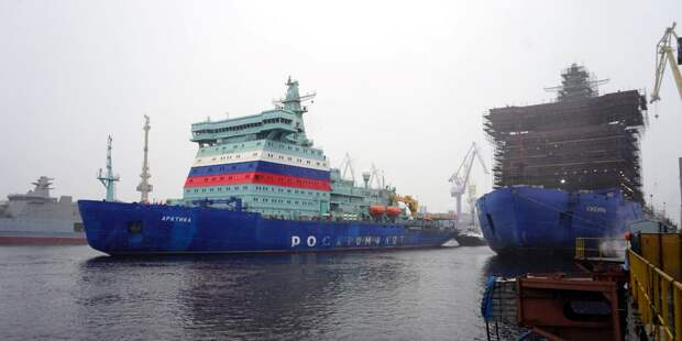 Ледокол «Арктика» захромал?