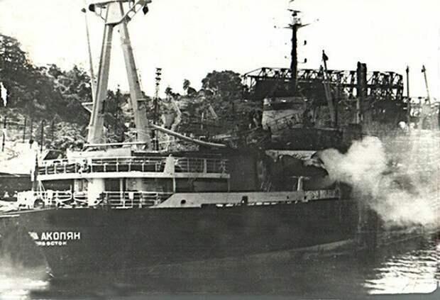 Почему СССР «простил» уничтожение американцами советского теплохода «Гриши Акопяна»