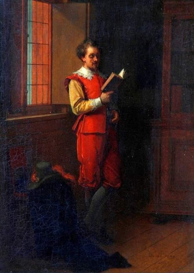 художник Жан де ла Хоз (Jean de la Hoese) картины – 03