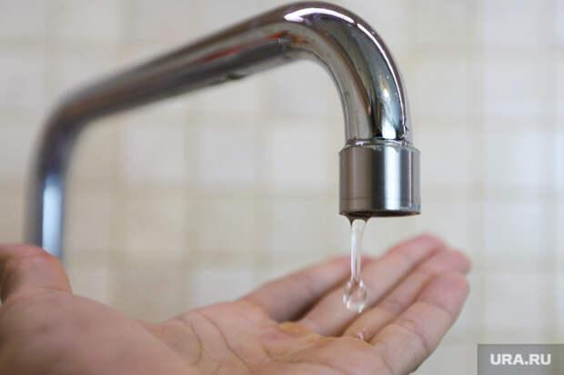 Несколько домов вцентре Кургана остались без воды из-за аварии