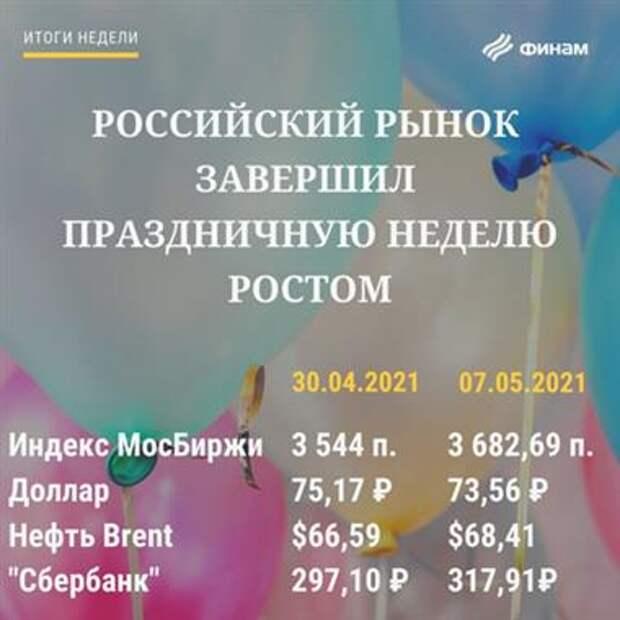 Итоги пятницы, 7 мая - На будущей неделе российский рынок продолжит рост