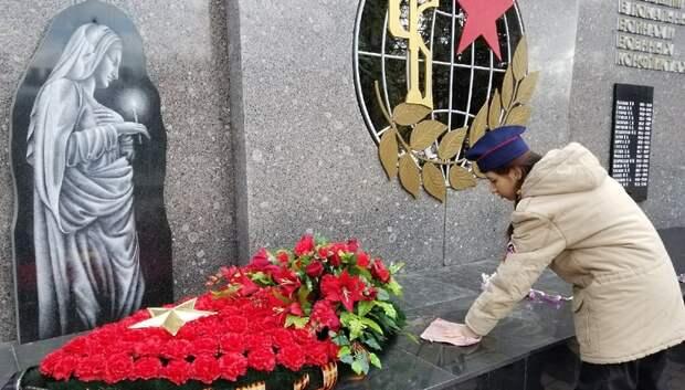 В Подмосковье продолжаются работы по подготовке памятников ВОВ к юбилею Победы