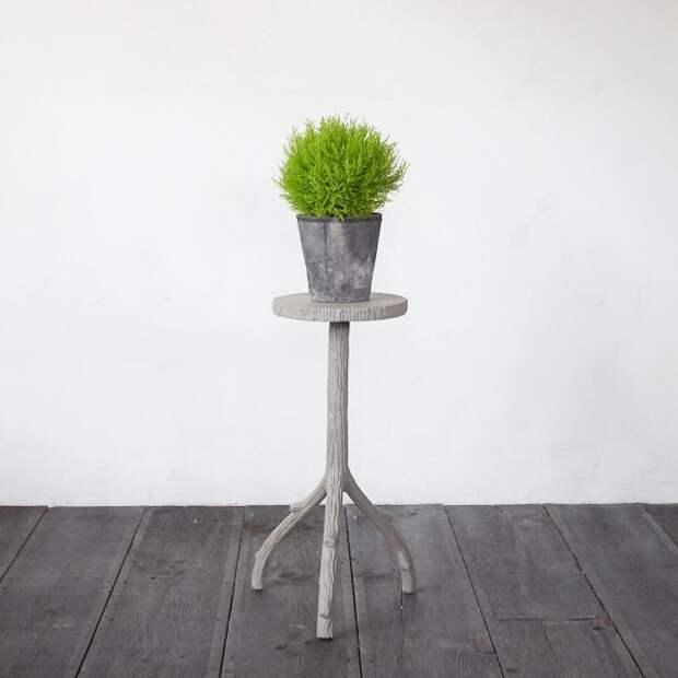 42 идеи декоративных подставкок для контейнеров с растениями