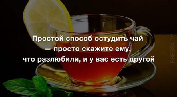 Анекдоты  и секреты чаепития