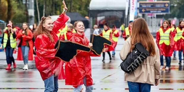 Сергунина: К волонтерскому движению Москвы в этом году присоединились 10 тыс. человек. Фото: mos.ru