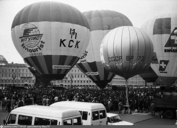 Воздушные шары на Дворцовой. история, факты, фото